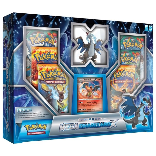 POKÉMON - BOX MEGACHARIZARD X