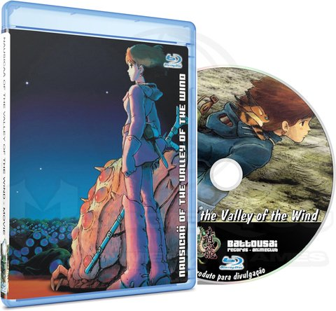 NAUSICAÄ OF THE VALLEY OF THE WIND - MOVIE (EDIÇÃO FANSUBBER) - BLU-RAY