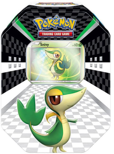 POKÉMON LATA BLACK & WHITE SNIVY