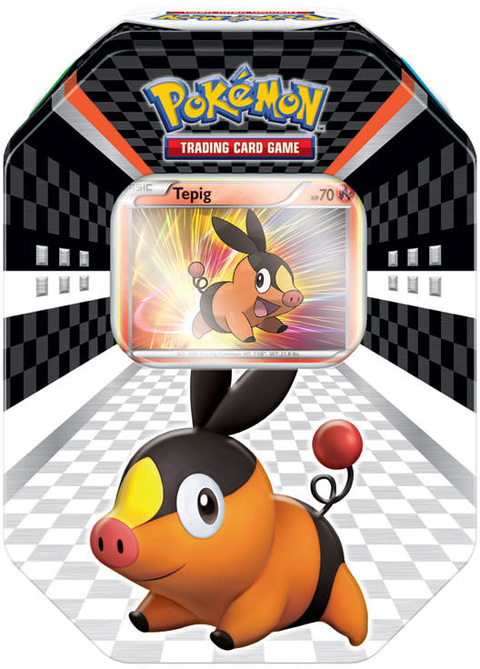 POKÉMON LATA BLACK & WHITE TEPIG