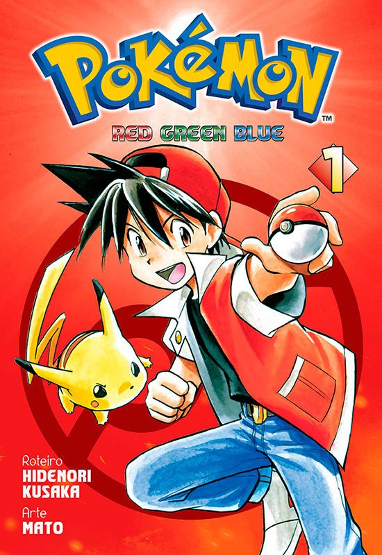 POKÉMON RED GREEN BLUE VOL 01