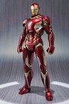 IRON MAN - MARK XLV  - AVENGERS: AGE OF ULTRON - S.H. FIGUARTS - BANDAI