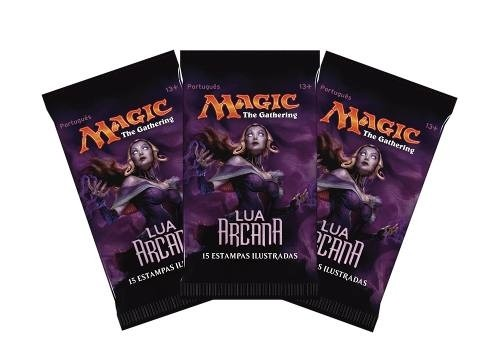 BOOSTER LUA ARCANA- MAGIC THE GATHERING na internet
