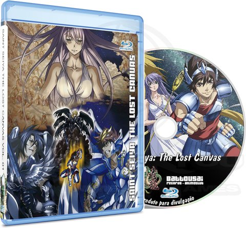 SAINT SEIYA THE LOST CANVAS (EDIÇÃO FANSUBBER) - BLU-RAY