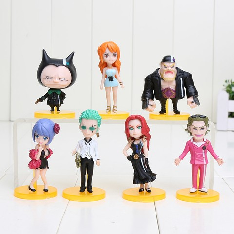 COLEÇÃO ONE PIECE WCF WORLD FILME GOLD VOL.2 SET COMPLETO BANPRESTO