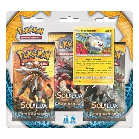 BLISTER TOGEDEMARU - POKÉMON SOL E LUA