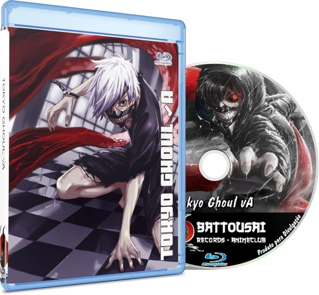 TOKYO GHOUL A 01-12 - BLU-RAY