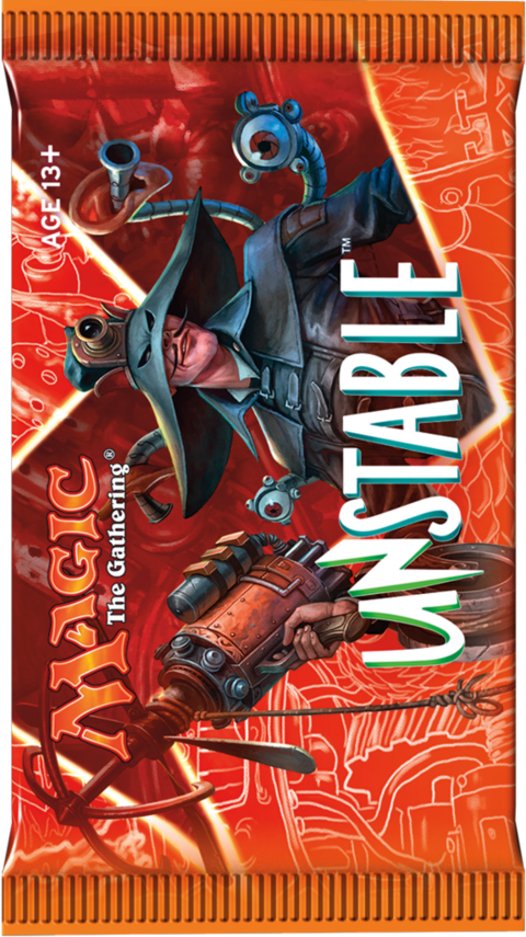 BOOSTER UNSTABLE  - MAGIC THE GATHERING