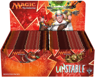 BOOSTER UNSTABLE  - MAGIC THE GATHERING - comprar online