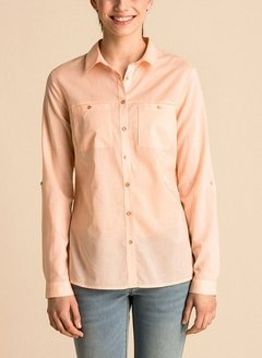 [Talle S] Camisa WILLIAM -salmón-