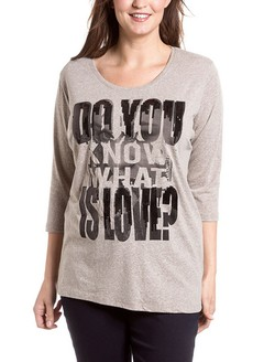 [Talle 4XL] Remera 'WHAT IS LOVE'