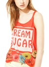 [Talle S] Remera 'Cream Sugar'