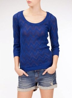 [Talle M] Sweater ACER -azul-