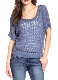 [Talle 4XL] Sweater SIMONA -azul-