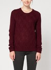 [Talle 2XL] Sweater VENECIA -bordeaux-