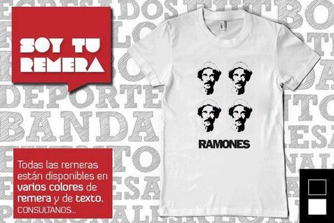 Remera Los Ramones - Don Ramon