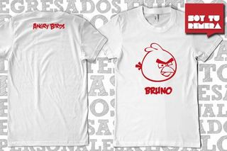 Remera Angry Birds