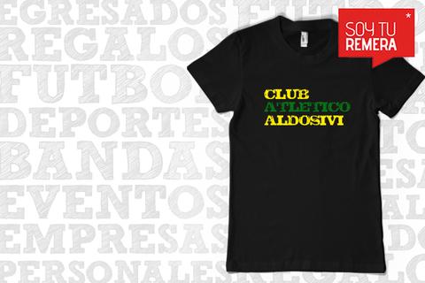 Remera Club Atletico Aldosivi