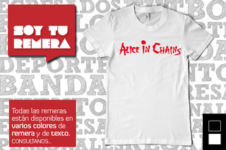 Remera Alice in Chains