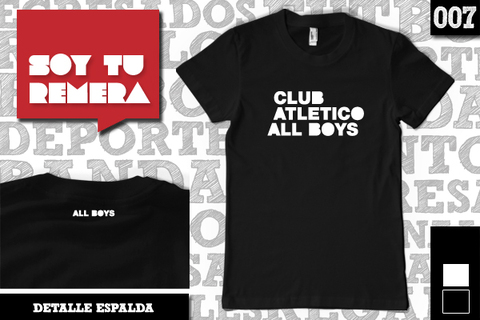 Remera Club Atlético All Boys