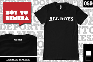 Remera All Boys