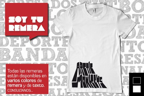 Remera Arctic Monkeys