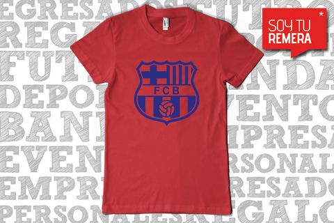 Remera Barcelona / Manchester City / Manchester United