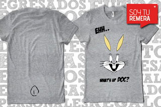 Remera Bugs Bunny Whats up Doc?