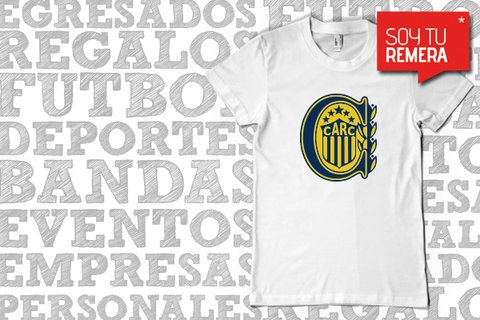Remera Rosario Central escudo
