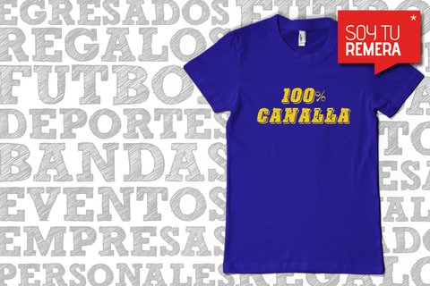 Remera 100 % Canalla - Rosario Central