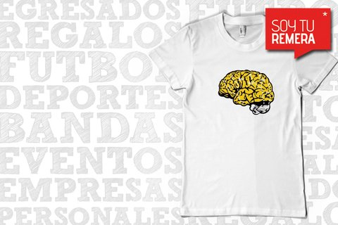 Remera Cerebro de escalada