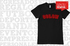 Remera Colon de Santa Fe