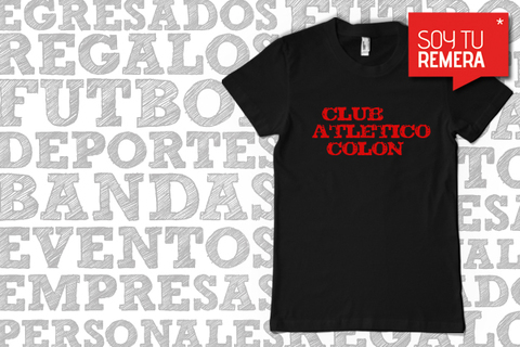 Remera Club Atletico Colon