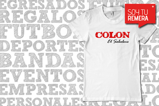 Remera Colon El Sabalero