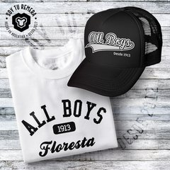 Combo Remera y Gorra All Boys Origen