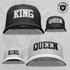Combo gorras KING QUEEN