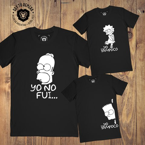Combo Yo no fui - Homero Bart o Lisa