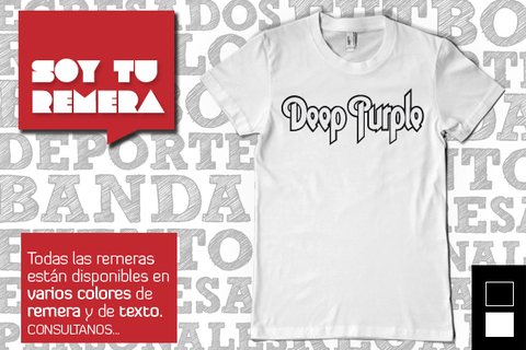 Remera Deep Purple