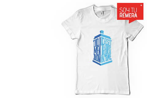 Remera Doctor Who   - comprar online