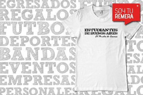 Remera Estudiantes de Bs As El Pincha de Caseros