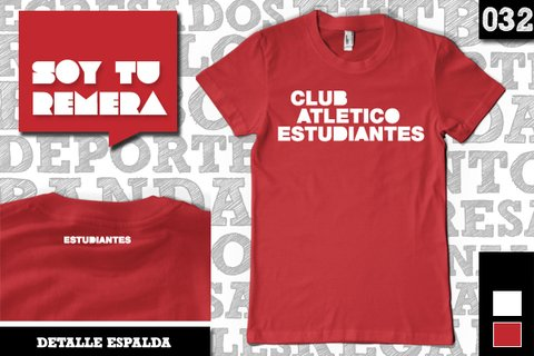 Remera Club Atlético Estudiantes