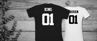 Remeras en COMBO KING & QUEEN