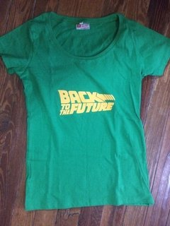 Remera Back to the future