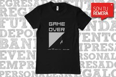 Remera Game Over - Escalada