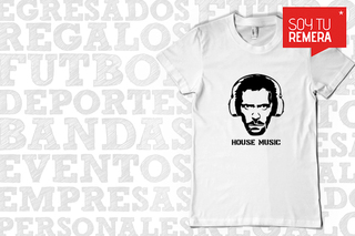Remera House Music