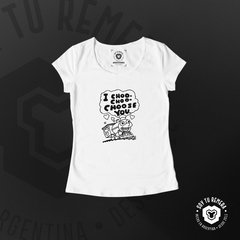Remera Simpson - I Choo choo choose you - comprar online