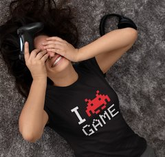 Remera I Love Game