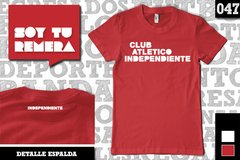 Remera Club Atlético Independiente