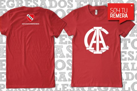 Remera Independiente CAI