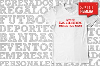 Remera Yo soy de la Gloria - Instituto